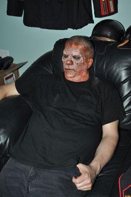 Zombie am Schlafen