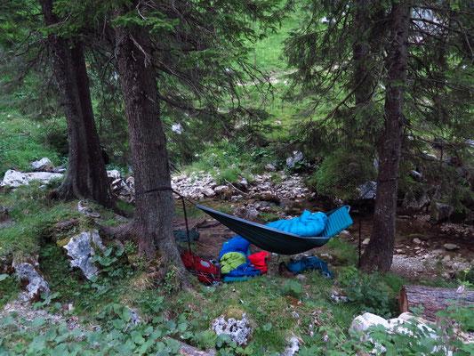 Unser Nachtlager