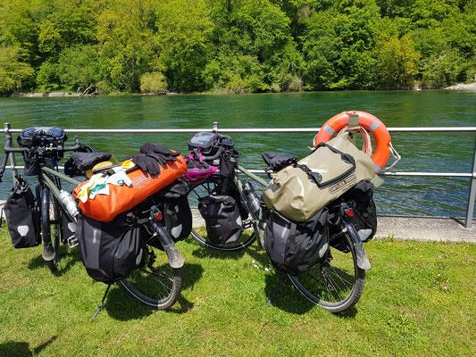 Am Rhein angekommen