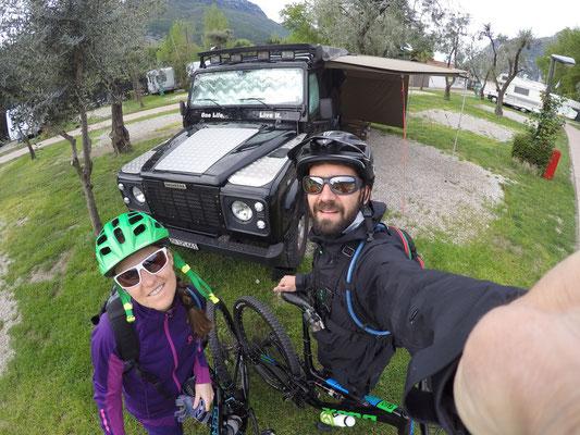 Ready für die erste Biking Tour Torbole - Lago Di Tenno