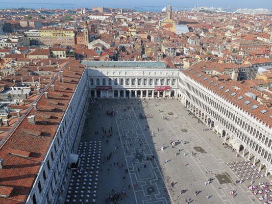 Ausblick über Venedig vom Campanile di San Marco