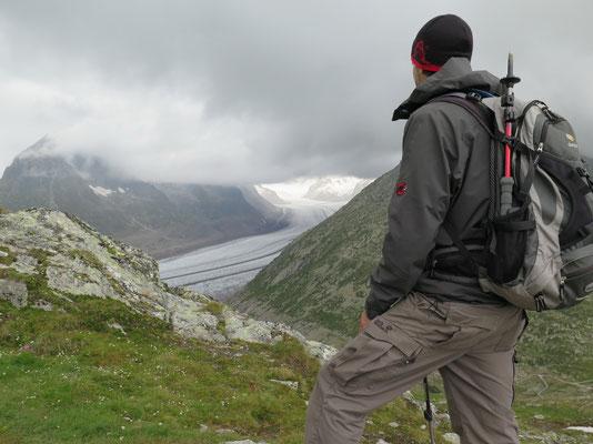 Aussichtspunkt auf den Gletscher vom Tällisee