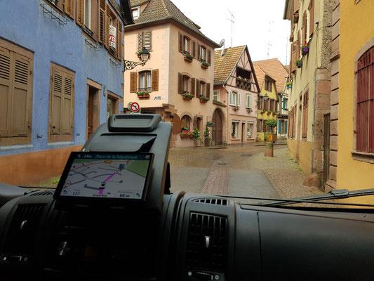 Unterwegs zum Trailrun in Ribeauville
