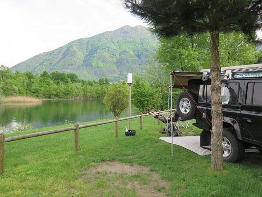 ...und dann ausruhen auf dem Campingplatz