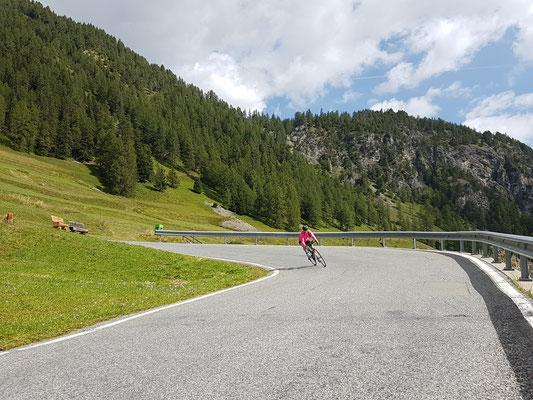 Radtour Albulapass
