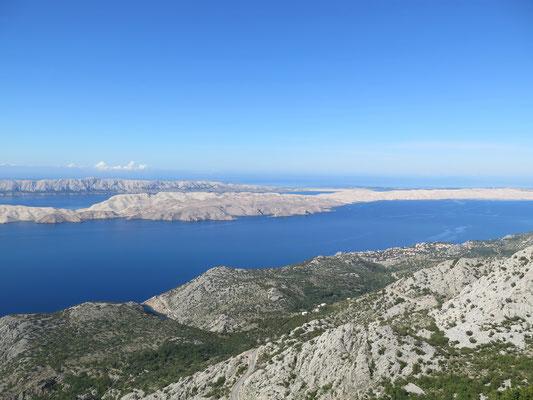 Wir fuhren über das Velebit Massiv zurück an die Küste von Norddalmatien