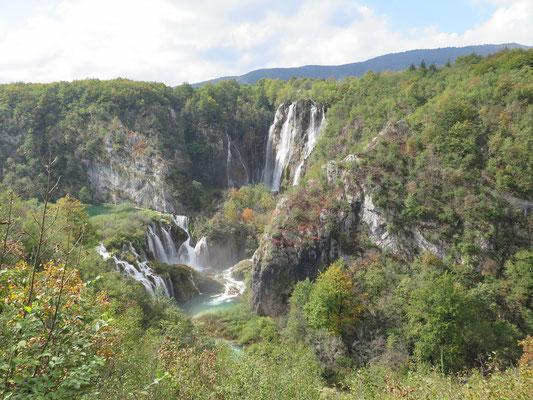 Weiter ging es in den nächsten National Park Plitvicer Seen