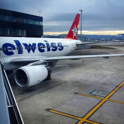 Direktflug von Zürich nach Rovaniemi mit der Edelweiss