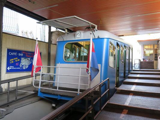 Zahnradbahn Locarno - Orselina