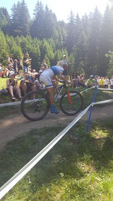 Jolanda Nef in Action... schaffte es auf den 3. Platz