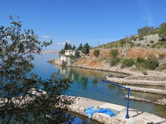 Wir verlassen nach einer Woche Kroatien Richtung Italien bzw. Südtirol