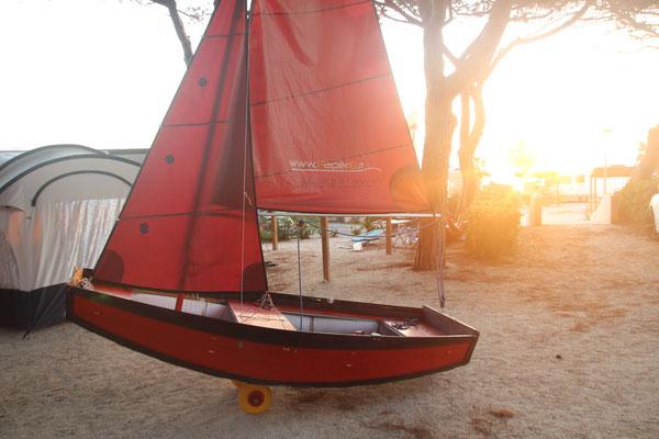 PaperOtto, Paper8, P8, Das faltbare Segelboot