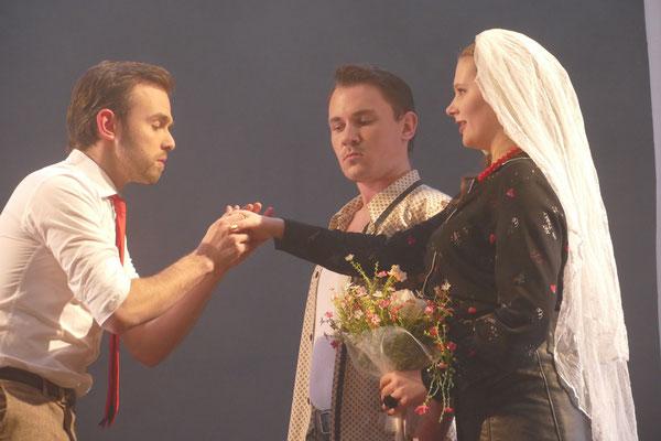 Florian Conze als Masetto