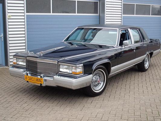 Cadillac Brougham, klassieker oldtimer, lak polijsten, poetsen, detailen | A1 Car Cleaning