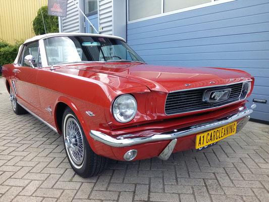 Ford Mustang, klassieker, polijsten lak, glasscoating, lakverzegeling | A1 Car Cleaning