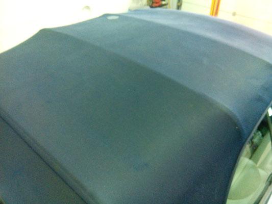 na impregneren een schone cabriokap softtop na impregneren | A1 Car Cleaning