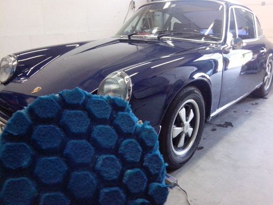 Porsche 911, klassieker, lak polijsten, krasjes verwijderen, polishangel treatment | A1 Car Cleaning