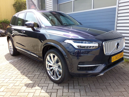 Volvo XC90 , glasscoating, nieuwe auto detailen | A1 Car Cleaning