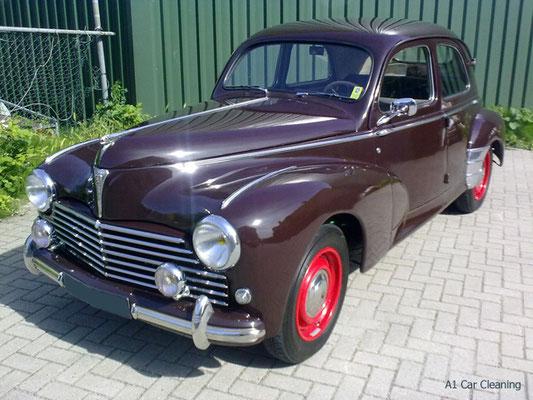 Peugeot 203, oldtimer klassieker, polijsten lak, auto poetsen | A1 Car Cleaning