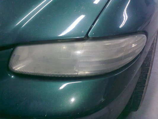 Verweerde doffe koplamp | A1 Car Cleaning