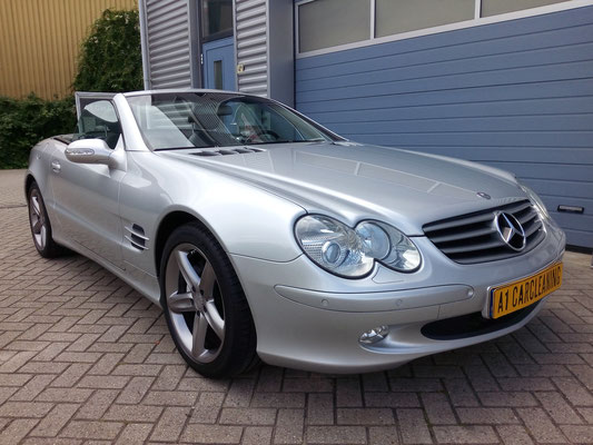 Mercedes SL500, Polish & Protect polijsten en glansherstel behandeling | A1 Car Cleaning