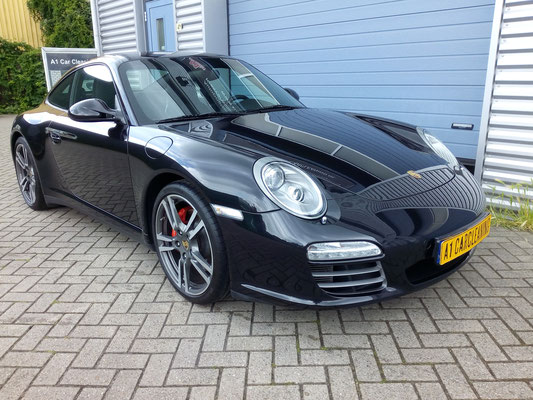 Porsche 911, Paint Correction en Glasscoating lakverzegeling | A1 Car Cleaning