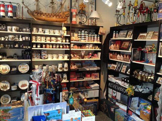 Der Lübeck Laden von Innen