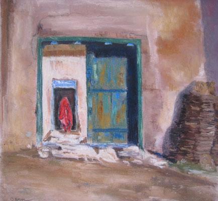Hazara - pastel - 40x30