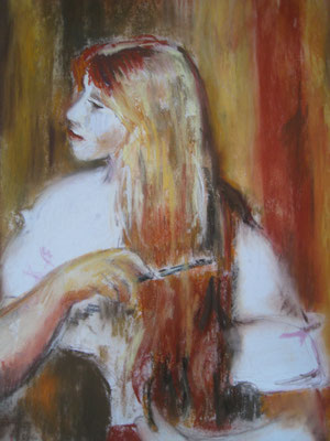 Copie de Renoir - pastel - 32x26