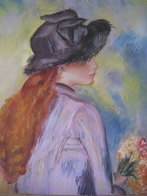 Copie de Renoir - pastel -