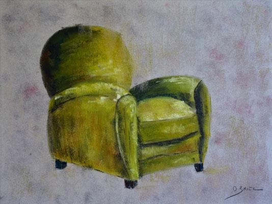 fauteuil club - pastel - 30x40