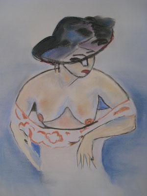 Cope de Kirchner - pastel - 40x30