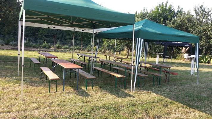 Sitz-Zelte