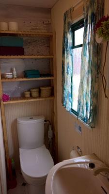 Die Cabane - das Badezimmer