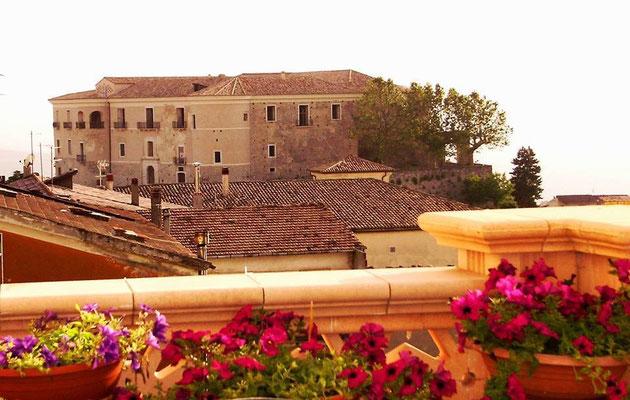 Veduta Castello da Rione Fiera di Olindo Giovanniello