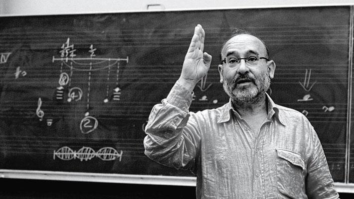 Il compositore Salvatore Sciarrino