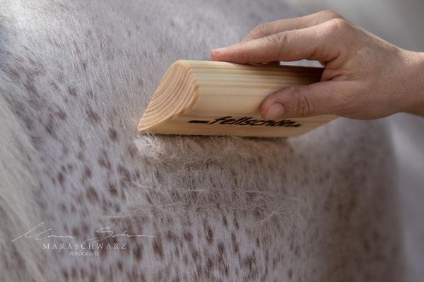fellschön-Bürste Holz