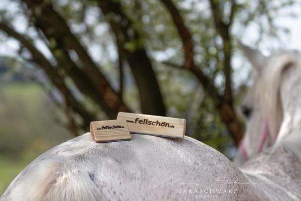 fellschön-Bürste Holz & mini-fellschönchen