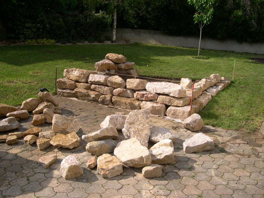 Montage des roches de l'Ain