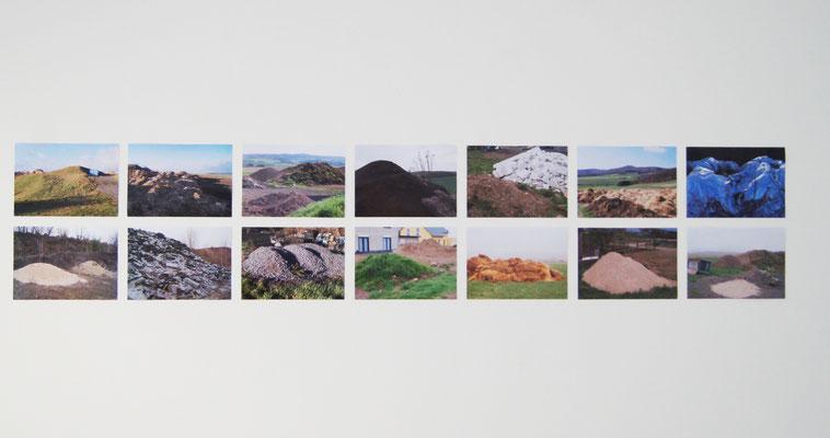 Hügelanalogien, Digitalfotografien, Burgbrohl, 2019