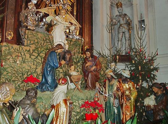 Krippe in der Kapuzinerkirche