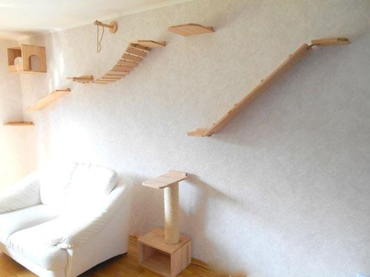 katzen kletterwand katzenkletterwand die kletterwand. Black Bedroom Furniture Sets. Home Design Ideas