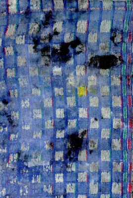 """nNuméro 10 (""""les témoins"""" series), oil on cotton, 20 x 30 cm, 2015"""