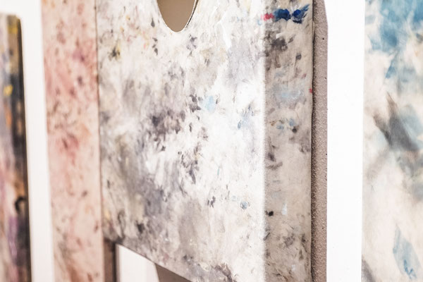 """exhibition view, """"myth and mess"""" opening, CAPE - centre des arts pluriels, ettelbruck, '16 (c) emile hengen"""