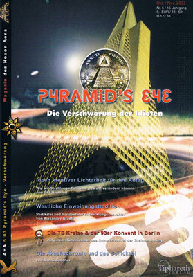 AHA. 16. Jhg., Nr. 5 (= Oktober/November 2003).