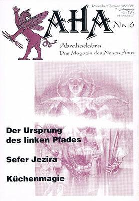 AHA. 7. Jhg., Nr. 6 (= Dezember/Januar 1994/95).