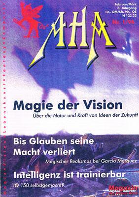 AHA. 8. Jhg. 1996, Nr. 1 (Februar/März).