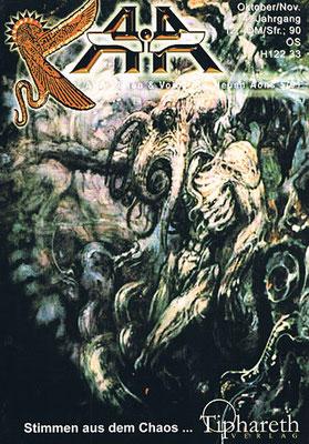 AHA. 14. Jhg., Nr. 5 (= Oktober/November 2001).