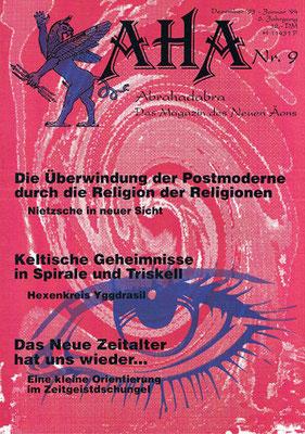 AHA. 6. Jhg., Nr. 9 (= Dezember 1993/Januar 1994).