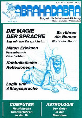 Abrahadabra. 2. [eig. 3.] Jhg. 1990, Nr. 7 (Juli).